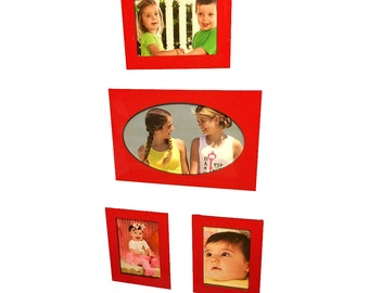Magnetic Picture Frames - Refrigerator Picture Frames - Acrylic