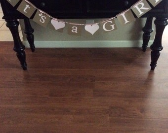 It's A Boy and It's a Girl Baby Banners