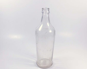 Heinz Vinegar Bottle from 1930s / H J Heinz Bottle / Heinz Ketchup / Heinz Pure Cider Vinegar
