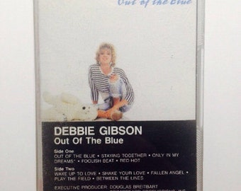 Debbie Gibson - Out of the Blue Cassette Tape 1986