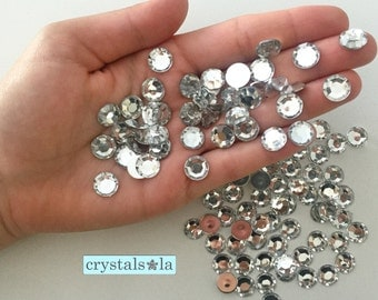Flat Gems 100pc - 10mm -G104