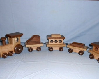 Wood Toy Train