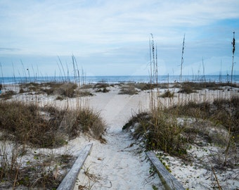 St Augustine Beach Walk