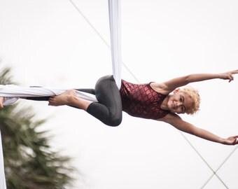 Mermaid Unitard for aerial trapeze, lyra, silks (KIDS)