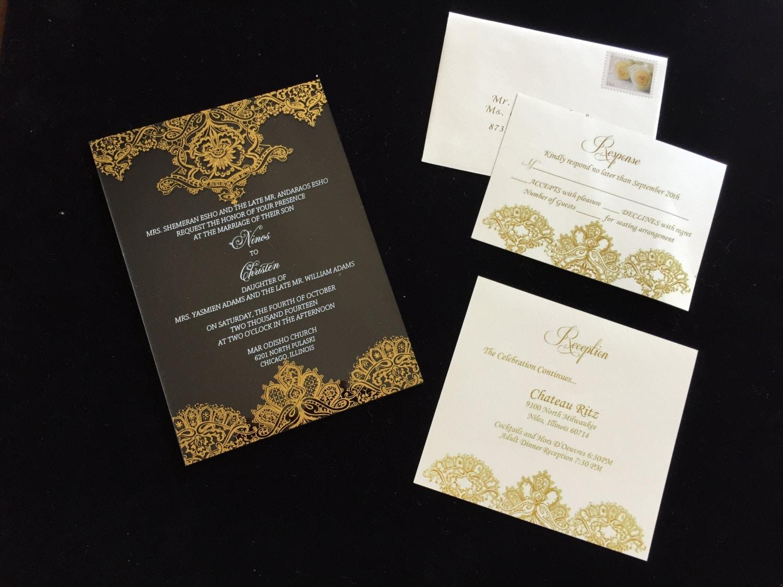 Shop Wedding Invitations: Acrylic Wedding Invitation