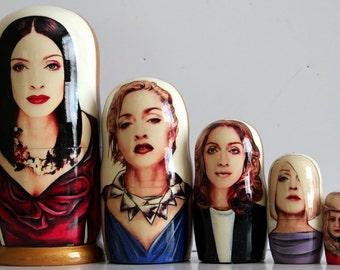 Nesting doll #505 Madonna Ciccone
