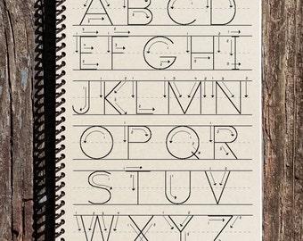 Alphabet Journal - Teacher Journal - Alphabet Notebook