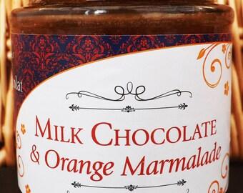 Handmade 40% Noche Milk Chocolate and Orange Marmalade