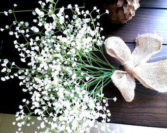 Gypsophila, gypsophila bouquet, baby's breath,  Gypsophila bridesmaid bouquet, Baby's Breath Bouquet, Wedding Bouquet, shabny chic bouquet,