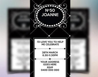 Coco Chanel Themed Party Invitations are Unique Ideas To Make Great Invitations Template