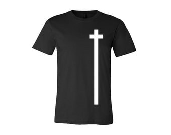 Cross printed T-shirt