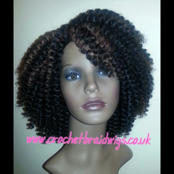 Crochet Braids Wig : Crochet Braid Wig by CrochetBraidWigs on Etsy