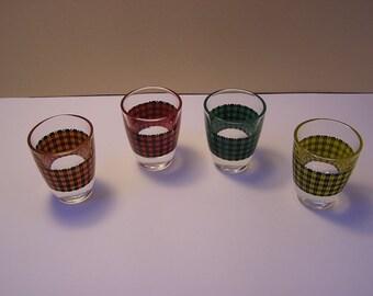 Liqour glasses / 70s / Scots Themes / Retro / Party