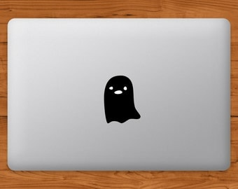 Ghost MacBook Decal Laptop Sticker