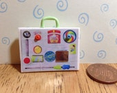 Hand made Dolls house Miniature replica vintage fisher price activity centre 112 scale
