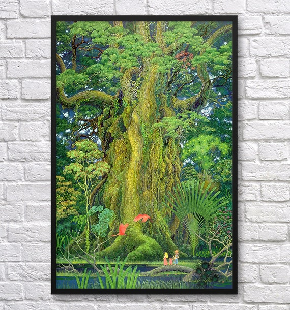 Secret of Mana Tree Video Game Poster by VGPrint on Etsy