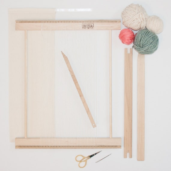 Wall Art Loom Kit : Beginners frame loom weaving kit everything you by