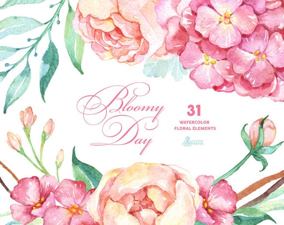 Bloomy Day 31 Floral Elements Hydrangea on Peter Rabbit Word Search