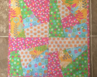 Baby doll mini quilt