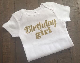 Birthday Girl Shirt - with personalization available