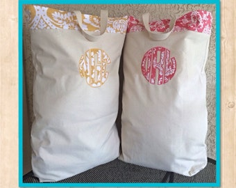Personal Monogrammed Laundry Bag