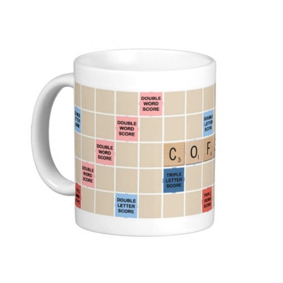 Coffee Mug Coffee Scrabble Mug