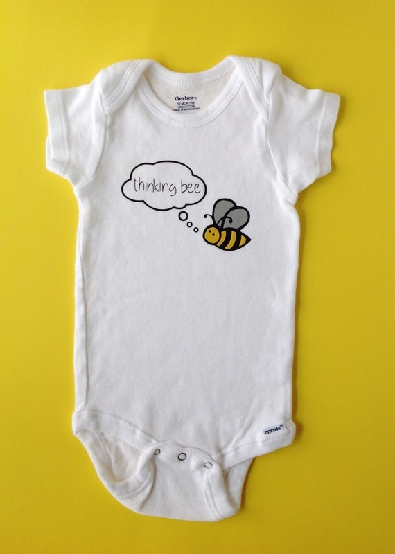 Bee Baby Clothes Thinking Bee Movie Quote Reference by