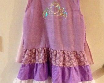 Princess Dress with cape & headband