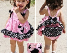 minnie mouse swing top dress Easter dress birthday minnie mouse swingtop dress 1st Birthday