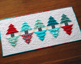 Christmas Reflections Table Runner & Mini Quilt Pattern (PDF)