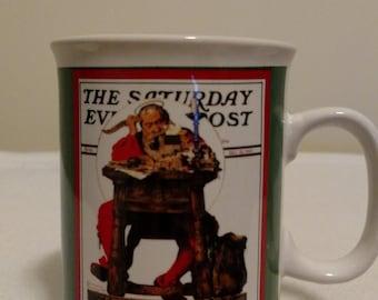 "Norman Rockwell ""The Saturday Evening Post"" mug"