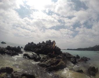 Waialea Bay on the Big Island of Hawaii