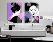 Pop art picture modern Ge...