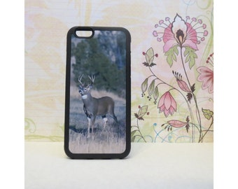 White Tailed Buck #2 - Rubber iPhone Case