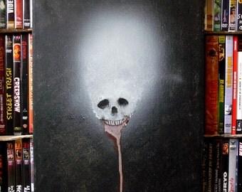 Paint skull - Death-original technical mixed