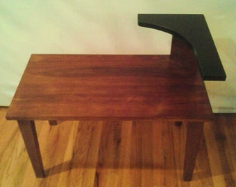 Mid Century Modern step side table /MCM Side Table