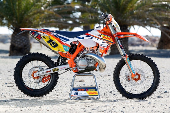 items similar to deco kit replica factory ktm exc 2014 2015 on etsy