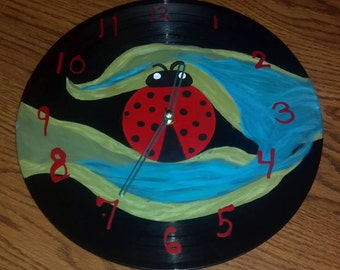 Lady Bug Clock