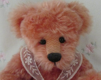 Mohair bear called Lissa