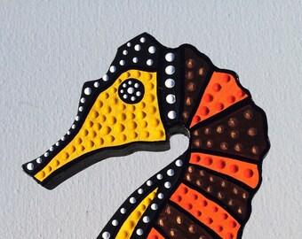 Seahorse- aboriginal inspired