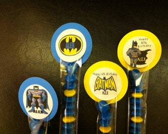 Batman Inspired Party Favor