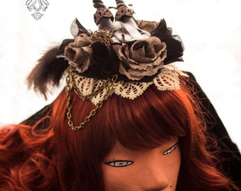 Steampunk headpiece / Victorian Steamtime