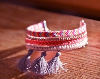 Brazilian cuff - handmade bracelet