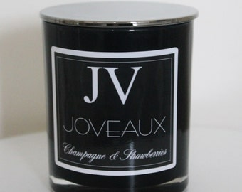 Black | White Luxury Soy Candles