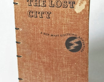 Hand-bound Blank Journal: The Lost City