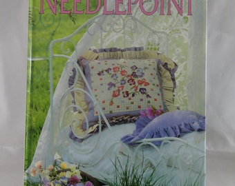 Floral Needlepoint by Melinda Coss Craft Book
