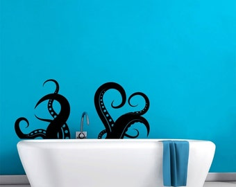 Giant Tentacles Octopus Wall Decal