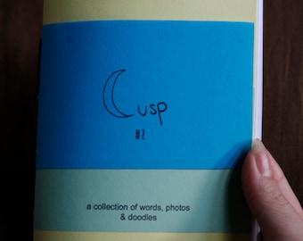 cusp issue #2 poetry perzine