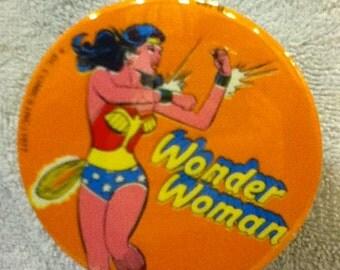 classic wonder woman button