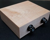 Solid Maple Passive Preamplifier for Audiophile Purists.